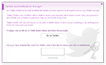 Authenticate Twitter & Login